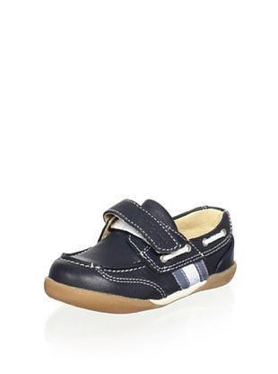 70% OFF Billowy Kid's Loafer (Navy)