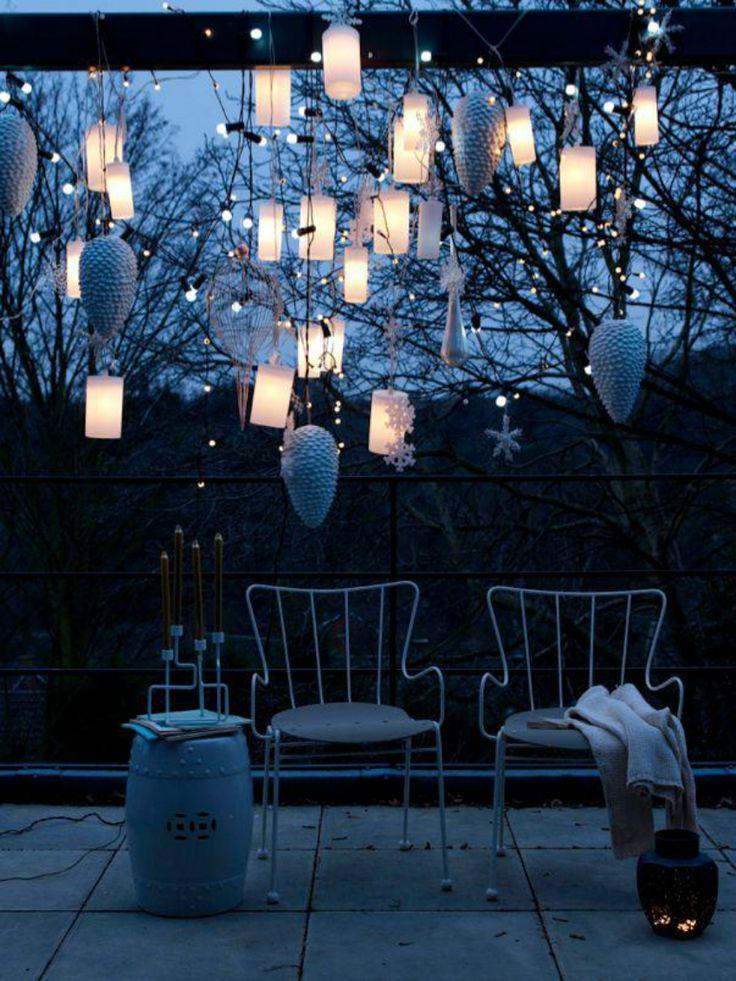 must see weihnachten winter inspirationen zu balkonen weihnachten inspirationen pinterest. Black Bedroom Furniture Sets. Home Design Ideas