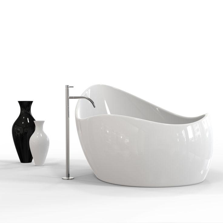 FINGER FOOD è una vasca da bagno realizzata in Adamantx® che prende ispirazione dai cucchiai usati nella cucina e in particolare nei finger food da cui prende il nome. La sua forma sinuosa e armonica le conferiscono originalità e carattere. Un mondo di concepire la vasca da bagno anche come complemento d'arredo. Designer: Minchillo Gianluca