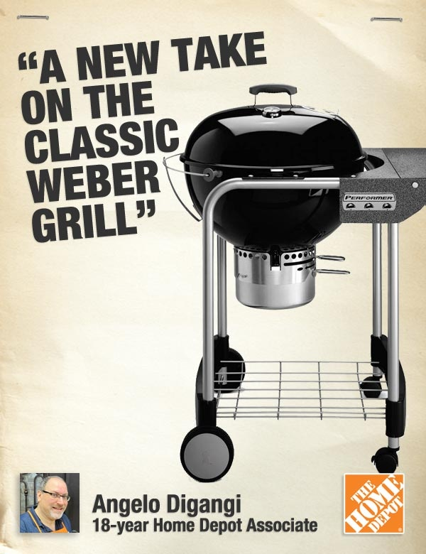 Give Dad the tools to make a scrumptious meal on the grill. He wins. You win. It's the perfect gift.