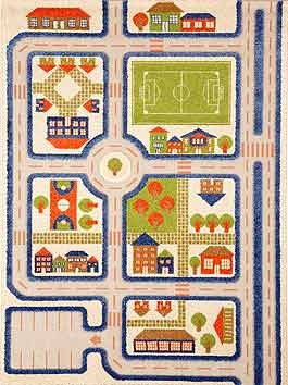 3D Play Rugs Traffic