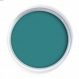 for my giant wall in the living room-vintage teal paint