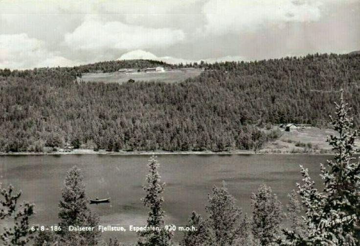 Oppland fylke Gudbrandsdalen Gausdal kommune Dalseter Fjellstue Espedalen 1950-tallet utg Normann