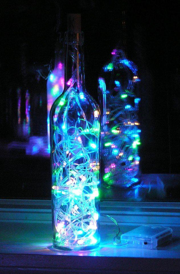 Divertidas  manualidades con botellas de vidrio http://mipagina.1001consejos.com/profiles/blogs/4-manualidades-con-botellas-de-vidrio/