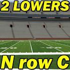 #Ticket  ROW C 2 LOWERS: North Carolina State NC @ Clemson Tigers Football 10/15 NrowC #deals_us