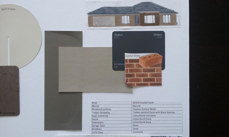 house exterior using colorbond Loft and Dune - Google Search