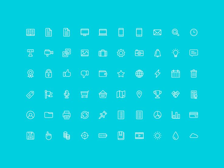 Here's our free 96 icon set, available in two weights for your eyes to enjoy!  You can download them over at The Noun Project or grab the whole darn lot via the Ai file attached.  Happy Dribbbling ...