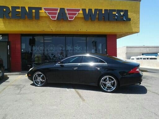 Mercedes CL500 on a set of 20-inch 2 Crave No. 14's!!!!!
