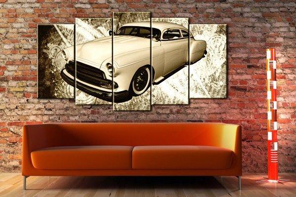 tableau voiture vintage oldtimer mercury tableau toile voiture pinterest vintage photos. Black Bedroom Furniture Sets. Home Design Ideas