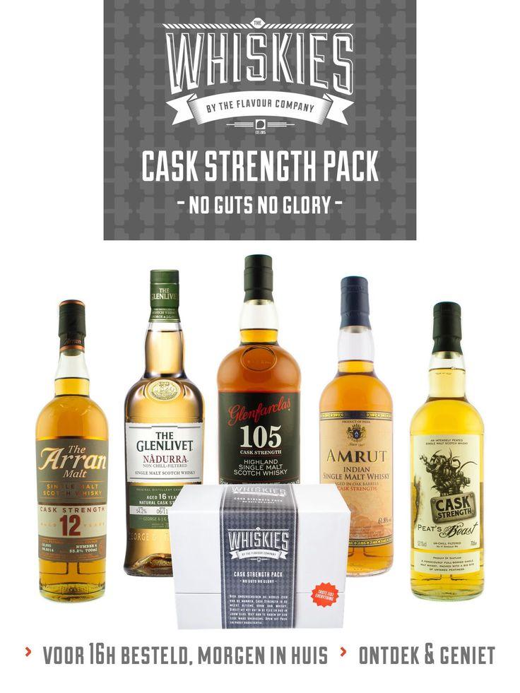 Whisky - Cask Strength pack