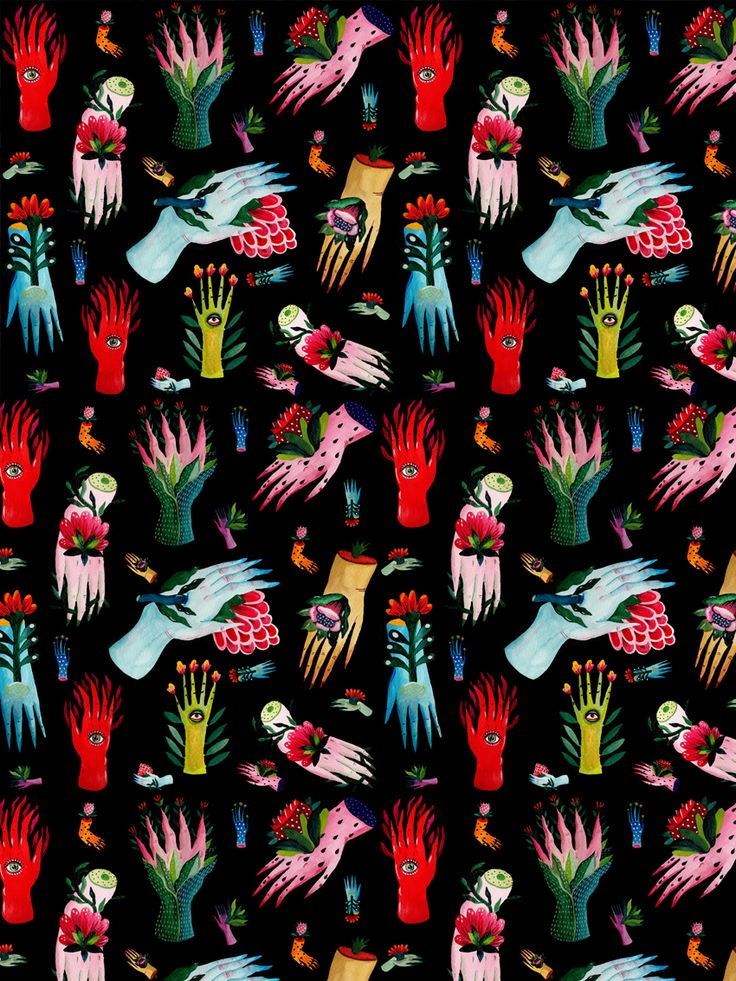 Illustration-ilustración           - visualgraphc:   Patterns by Aitch
