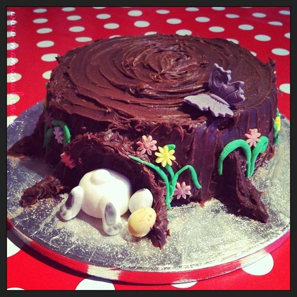 Mama Owl: Easter Bunny Cake & baking ideas