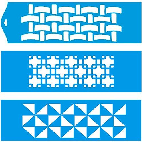 28cm x 8cm Pochoir (Jeu de 3) Réutilisable en Plastique Transparent Souple Trace Gabarit - Traçage Illustration Conception Murs Toile Tissu Meubles Décoration Aérographe Airbrush Litoarte http://www.amazon.fr/dp/B00PME97TE/ref=cm_sw_r_pi_dp_B5Mqwb0MJR2FD