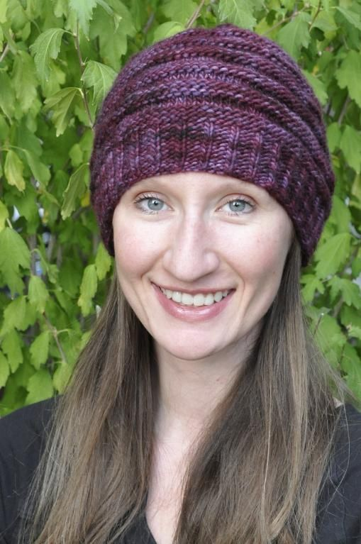 ... Ponytail Hat by laurendahl - Craftsy | Hats, Welcome To and Knitting