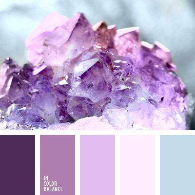 azul claro suave, color amatista, color lila, color orquídea violeta, color púrpura suave, color rosado pálido, colores para decorar la boda, de color púrpura, elección del color para una boda, lila oscuro, paleta de colores para una boda de invierno, púrpura oscuro, tonos rosados.