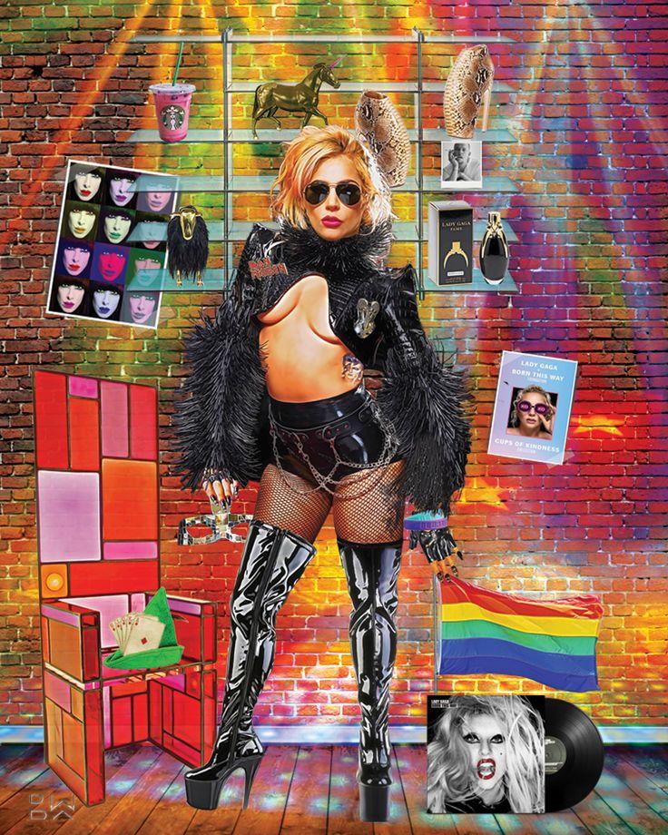 """""""Lady Fame"""" #ladygaga #popart #art #digitalart"""