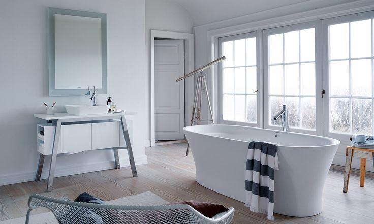 Une superbe salle de bains directement dans la chambre ! #deco #design