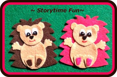 Storytime ABC's: Search results for HEDGEHOG