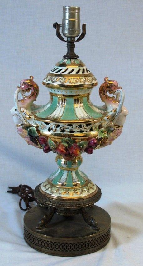 capodimonte+lamps | 292: Capodimonte Lamp | Capodimonte ...