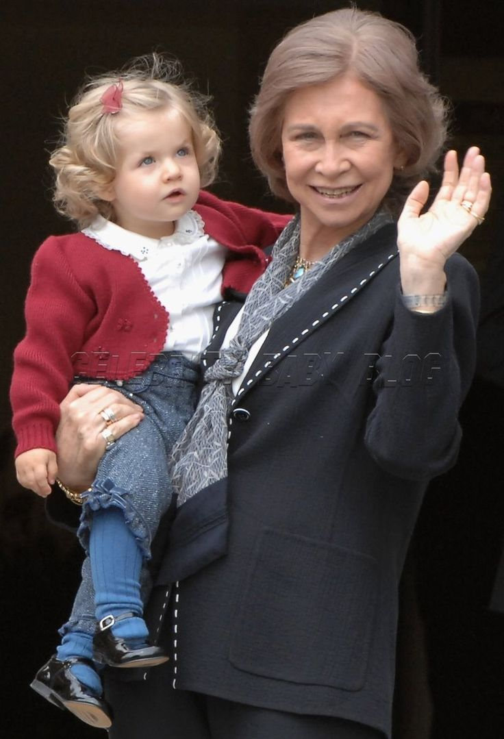 infantitas de borbon: 2º visita de Leonor a Sofia/2007
