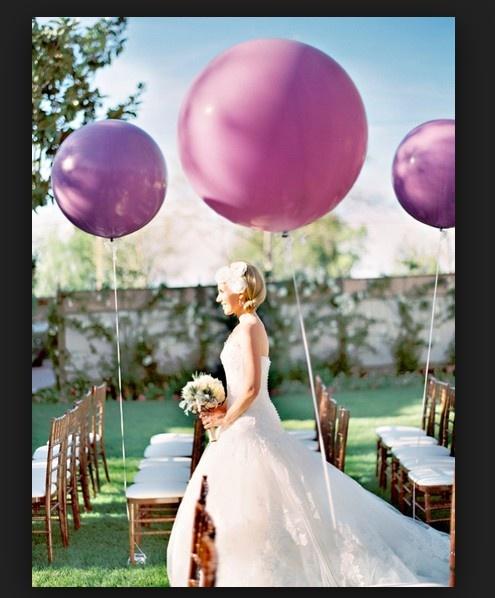 baloes roxos