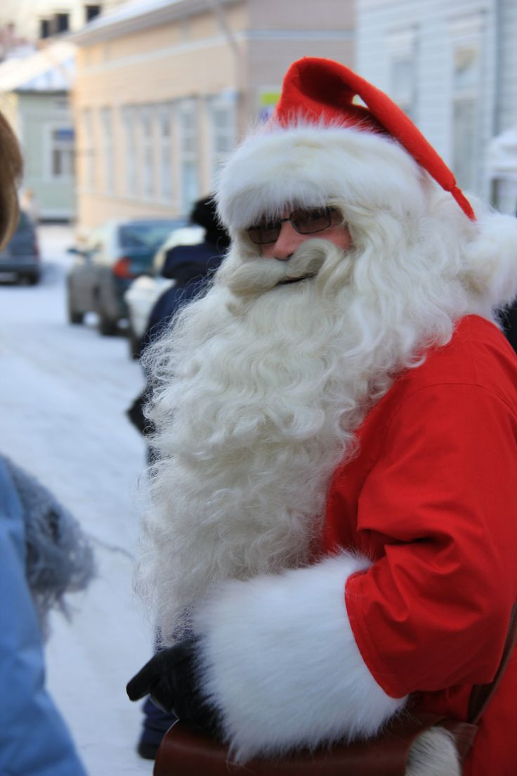 Joulunavaus - Se oikea pukki :D #puutalokaupunginjoulu #uusikaupunki #visituusikaupunki