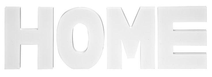 Letters Home: leuke tekst voor op de muur of het dressoir #words