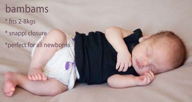 Bubblebubs, Bambams Modern Cloth Nappies/Diapers beautiful newborn baby