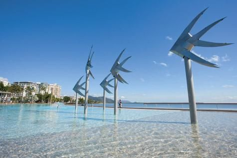 The Lagoon on the Cairns Esplanade