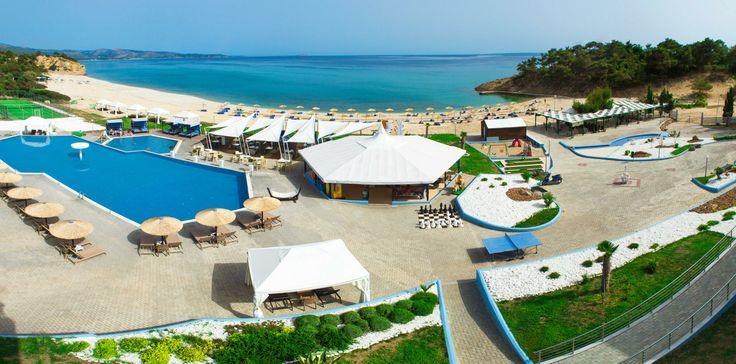 10% отстъпка за ранни записвания - почивка в Гърция - остров Тасос хотел Blue Dream Palace. Настаняване на пълен пансион (закуска, обяд, вечеря).