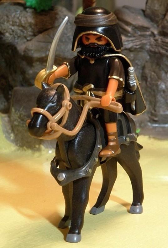 Guerrero/ladron egipcio, playmobil