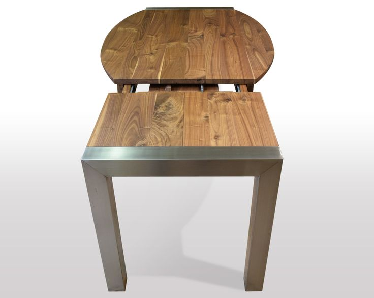 Entzuckend Tisch Nussbaum Massiv   Breite 100cm / Länge Wählbar