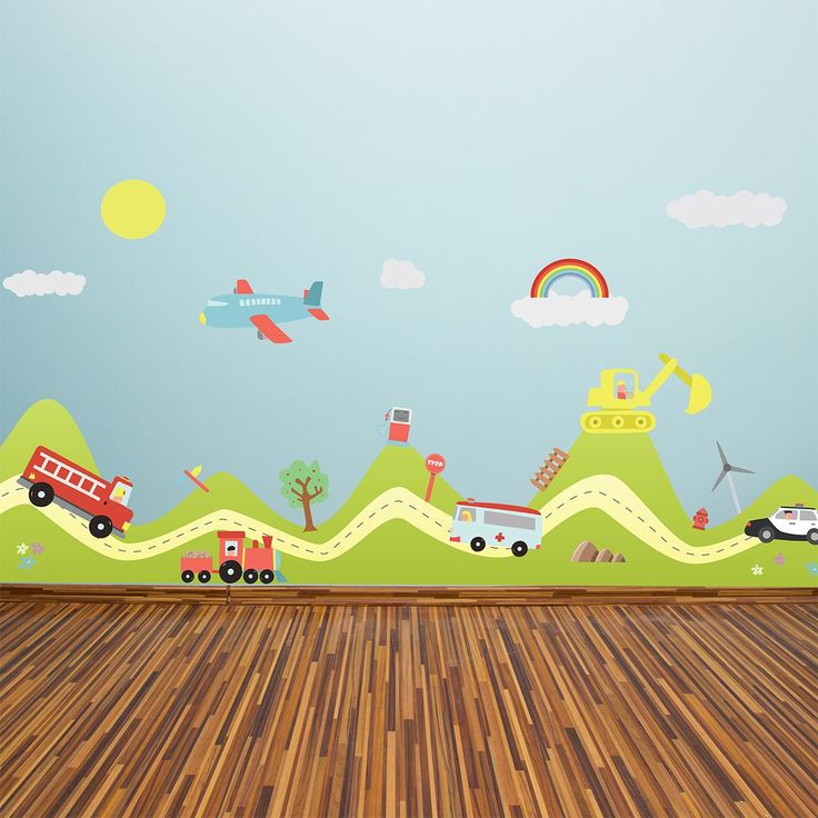 Sticker Hill and Transport Cars