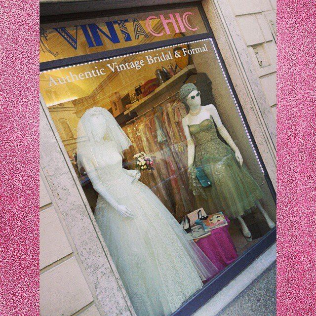 OUR #1950s DISPLAY WINDOW