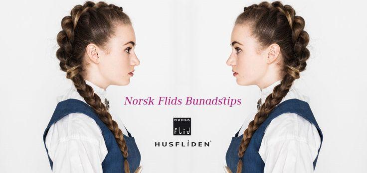 Tips knyttet til bunad og bruk (hårfrisyrer m.m) fra Husfliden