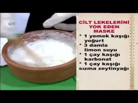 cilt lekelerine doğal maske tarifi yoğurt ve limon suyu formülü hamileli...