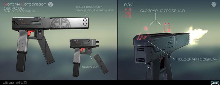 ArtStation - Gun Designs, Timo Peter