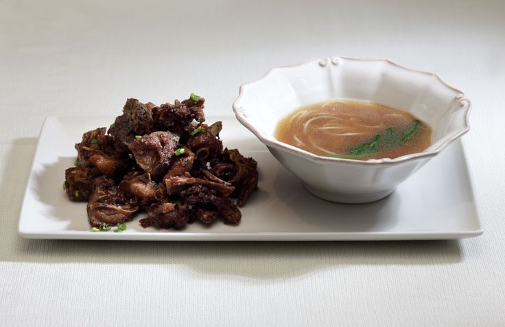 Ресторан «Китайская грамота. Бар и еда», Москва. Утиный суп-лапша и утиные семечки