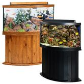 Aqueon » Corner Aquariums | Products  I hope someday to have a saltwater aquarium, but that takes MONEY!  I hope I win it!  :)