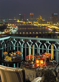 Experience #Ramadan with mouth-watering Egyptian delicacies and delights served by the legendary Nile @FSCairoNP #FourSeasons
