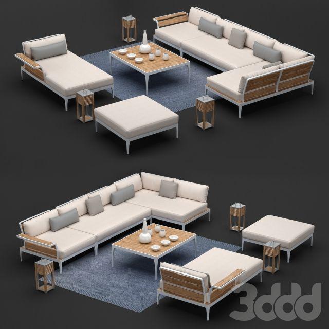 Уличная мебель Ethimo коллекция Meridien