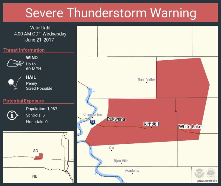 Severe Thunderstorm Warning continues for Kimball SD, White Lake SD, Pukwana SD until 4:00 AM CDTpic.twitter.com/pT5D6q1fVo - https://blog.clairepeetz.com/severe-thunderstorm-warning-continues-for-kimball-sd-white-lake-sd-pukwana-sd-until-400-am-cdtpic-twitter-compt5d6q1fvo/