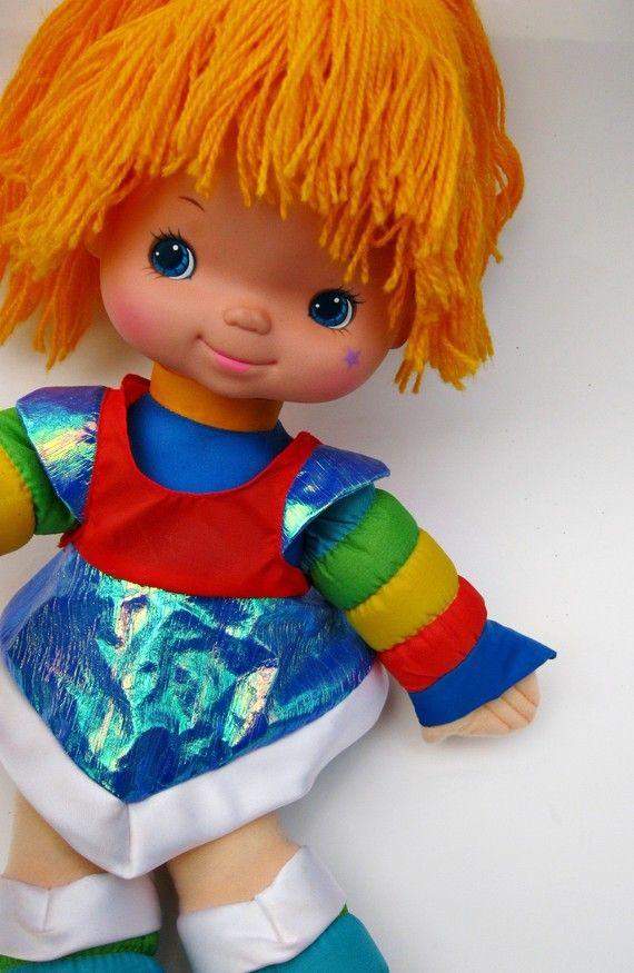 Rainbow Brite..... <3 Yep! We had this exact doll!