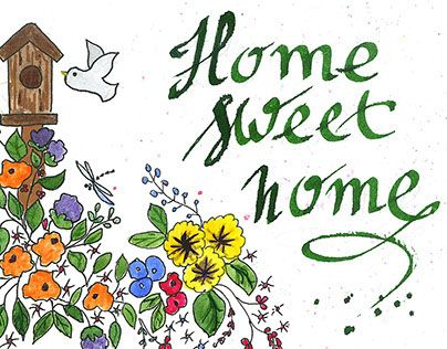 """Check out new work on my @Behance portfolio: """"Home sweet home"""" http://on.be.net/1PVWFcu"""