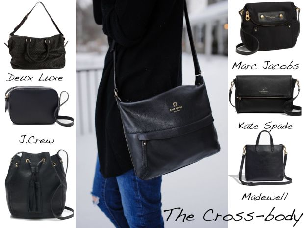 3 bags you need in your wardrobe // #crossbody #allblackeverything // buttonblogs.wordpress.com