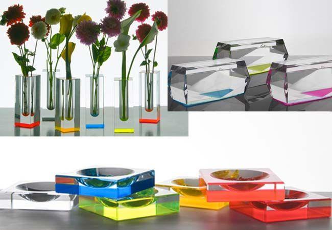 ALEXANDRA VON FURSTENBERG Acrylic Designs ♥♥♥