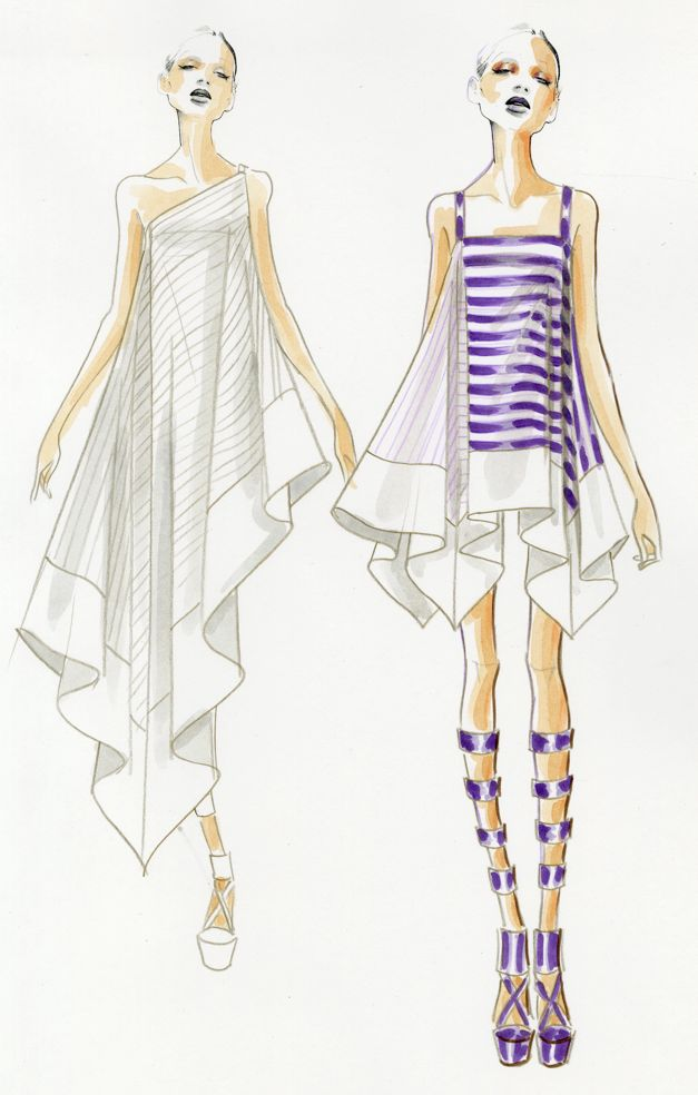 1000+ images about Doodle Fashion Drawing on Pinterest | Hayden ...