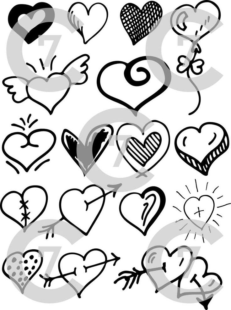 Of course probably the most enduring use of the heart symbol has been for Valentine's Day to show our romantic affections and love.  This Heart Shape Vector Art Pack includes 17 unique and original heart shape designs.  Each heart shape was individually drawn by hand and then later vectorized.