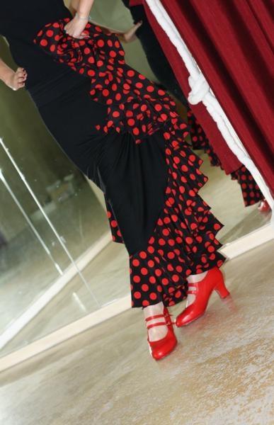 Flamenco skirt!