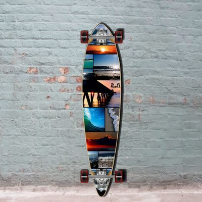 With the Seaside you get a quality cheap pintail longboard from Punked. Rip don't stroll at the seaside, get yours now!